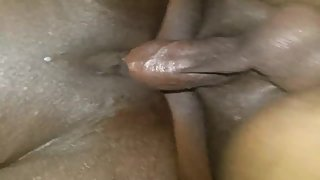 POUNDING EBONY PUSSY FROM BEHIND!!(CLOSE UP!!)